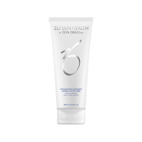 zo skin health exfoliating cleanser for normal to oily skin